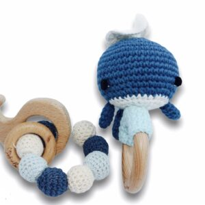 Teether whale